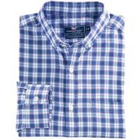 Vineyard Vines Men's Edgewater Plaid Murray Shirt