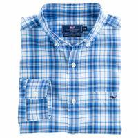 Vineyard Vines Men's Shore Town Plaid Tucker Shirt