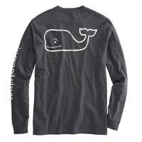 Vineyard Vines Men's Heathered Vintage Whale Pocket T-Shirt