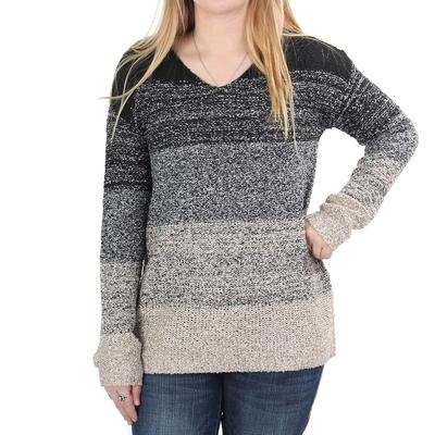 Anne French Women's Boucle V- Neck Sweater