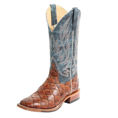 Horse Power Men's Cognac Fillet of Fish Boots