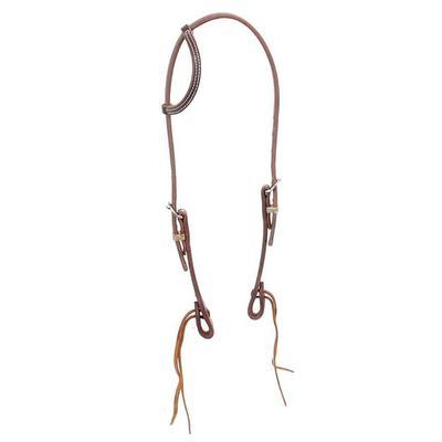 Cowperson Tack Sliding Ear Hermann Oak Harness Leather Headstall