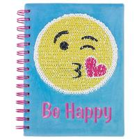 The Emoji Magic Sequin Journal