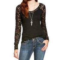 Ariat Women's Black Marina Top