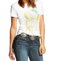 Ariat Women's Vintage White Chief Tee