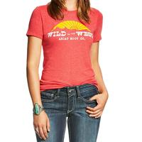 Ariat Women's Wild In The West Tee