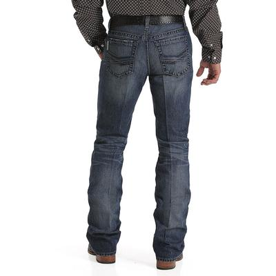 Cinch Men's Ian Slim Dark Stonewash Jean