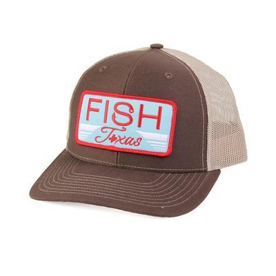 Red Dirt Hat Co.'s Brown Fish Texas Cap