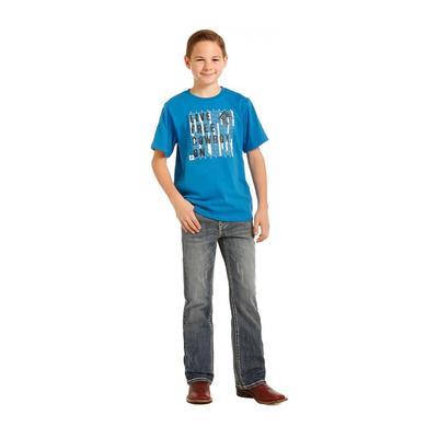 Rock & Roll Denim Boy's Medium Wash Jeans