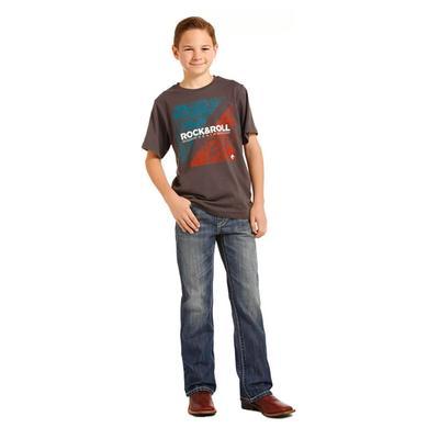 Rock & Roll Denim Boy's Dark Wash Jeans
