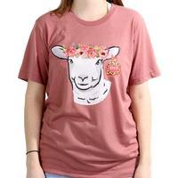 D&D Texas Outfitters Women's Show Animal Flower Crown T-Shirt
