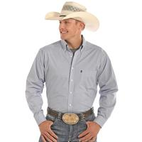 Panhandle Slim Men's White Print Tuf Cooper Shirt