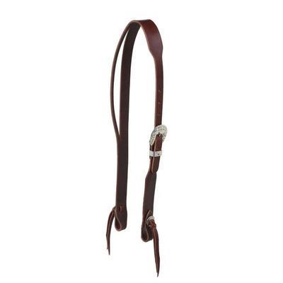 Berlin Custom Leather Split Ear Latigo Headstall