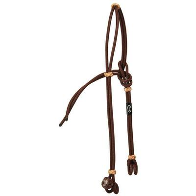 Berlin Custom Leather Wigwam Knotted Rope Headstall