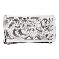 Montana Silversmith's Silver Filigree Square Money Clip