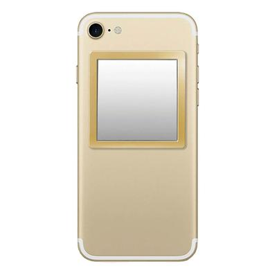 Gold Square Phone Mirror