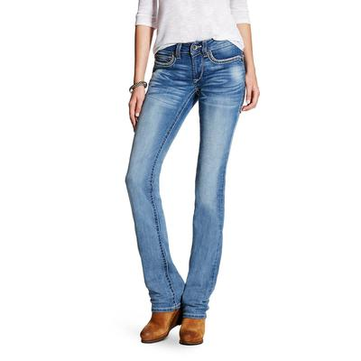 Ariat Women's Mid- Rise Straight Hanna Jeans