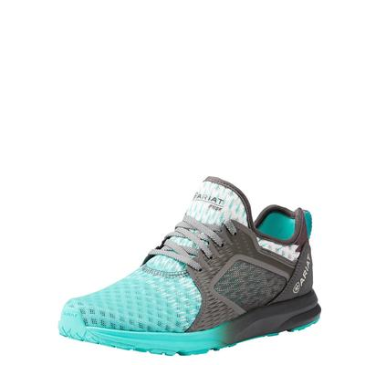 Ariat Women's Turquoise Ombre Fuse Mesh Shoes