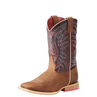 Ariat Girl's Sunset Purple Vaquera Boots