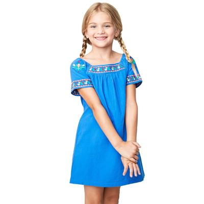 Hayden Girl's Embroidered Tunic Dress