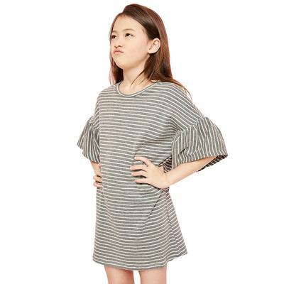 Hayden Girl's Oversized Stripe Dress