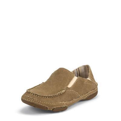 Tony Lama Women's Golden Tan Canvas Shoes