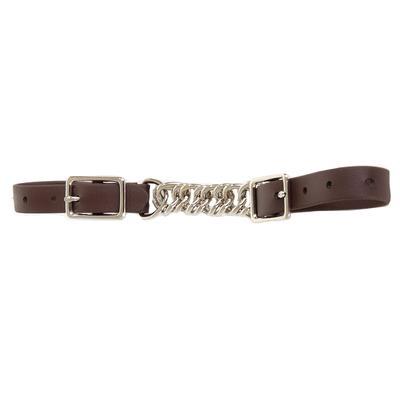 Berlin Custom Leather Biothane Flat Twisted Curb Chain BN