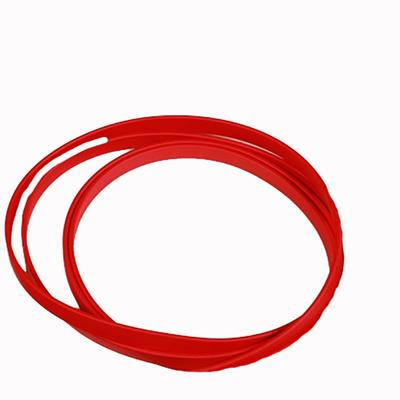 Berlin Custom Leather Biothane Roping Rein RED