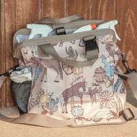 Classic Equine Groom Tote - Frontier Print