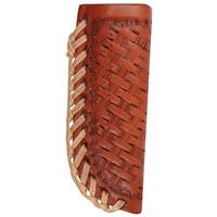 Martin Saddlery Basket Stamp Knife Scabbard