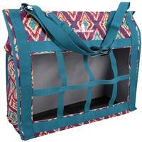 Classic Equine Top-Load Hay Bag - Plum Prism