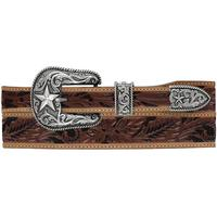Justin Men's Floral Tool Taper Belt