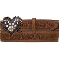 Justin Girl's Lil' Heart Belt