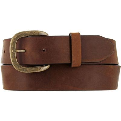 Justin Men's Brown Basic Work Belt