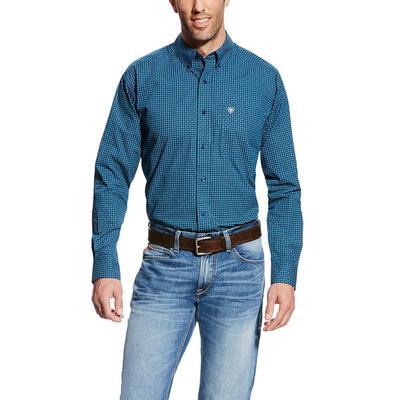Ariat Men's Blue Pine Christian Shirt