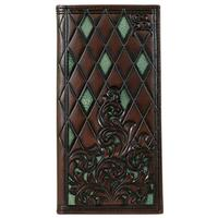 Hooey Men's Roughy Signature Rodeo Tool Cutout Wallet