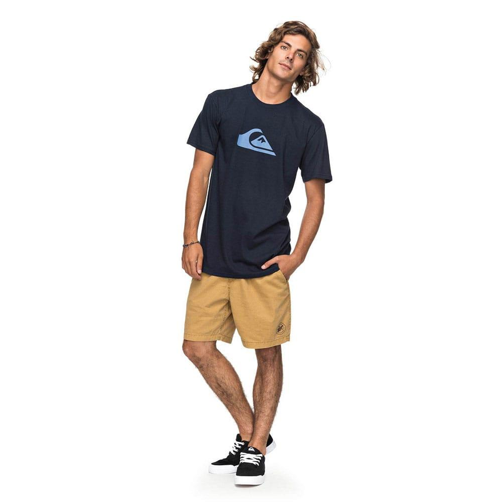 Quiksilver Mens Comp Logo T- Shirt