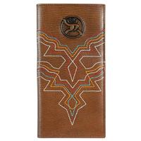 Hooey Men's Roughy Signature Rodeo Color Stitch Wallet