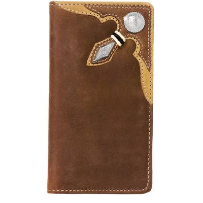 Silver Creek Men's Stockyard Rawhide Wallet