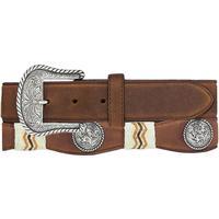 Tony Lama Men's Buckaroo Rawhide Belt
