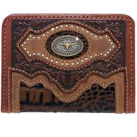 Silver Creek Men's Cattle Driven Bi-Fold Wallet