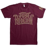 Dale Brisby Men's Just Rodeoin T-Shirt