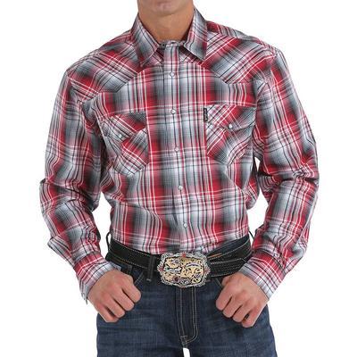 Cinch Men's Plaid Snap Shirt