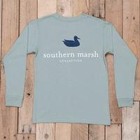 Southern Marsh Kid's Authentic Long Sleeve Tee