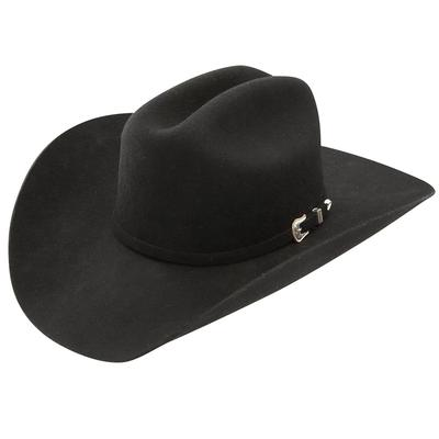 Stetson Oak Ridge Black 3X Felt Cowboy Hat