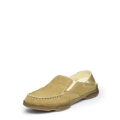 Tony Lama Boy's Tan Canvas Shoes