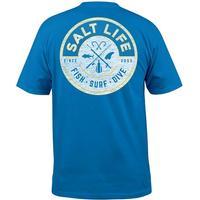 Salt Life Men's Royal Friction T-Shirt