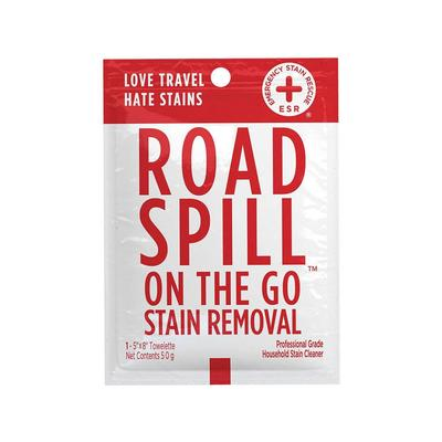 Road Spill On The Go Stain Removal Wipes