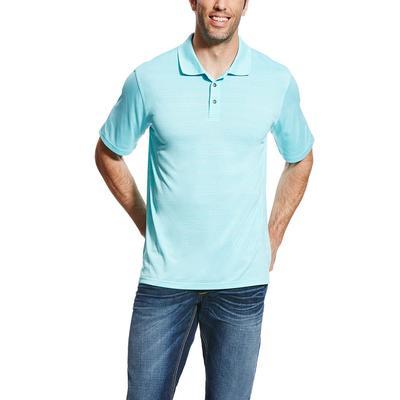 Ariat Men's Blue Fade Polo Shirt