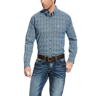 Ariat Men's Majolica Blue Favio Shirt